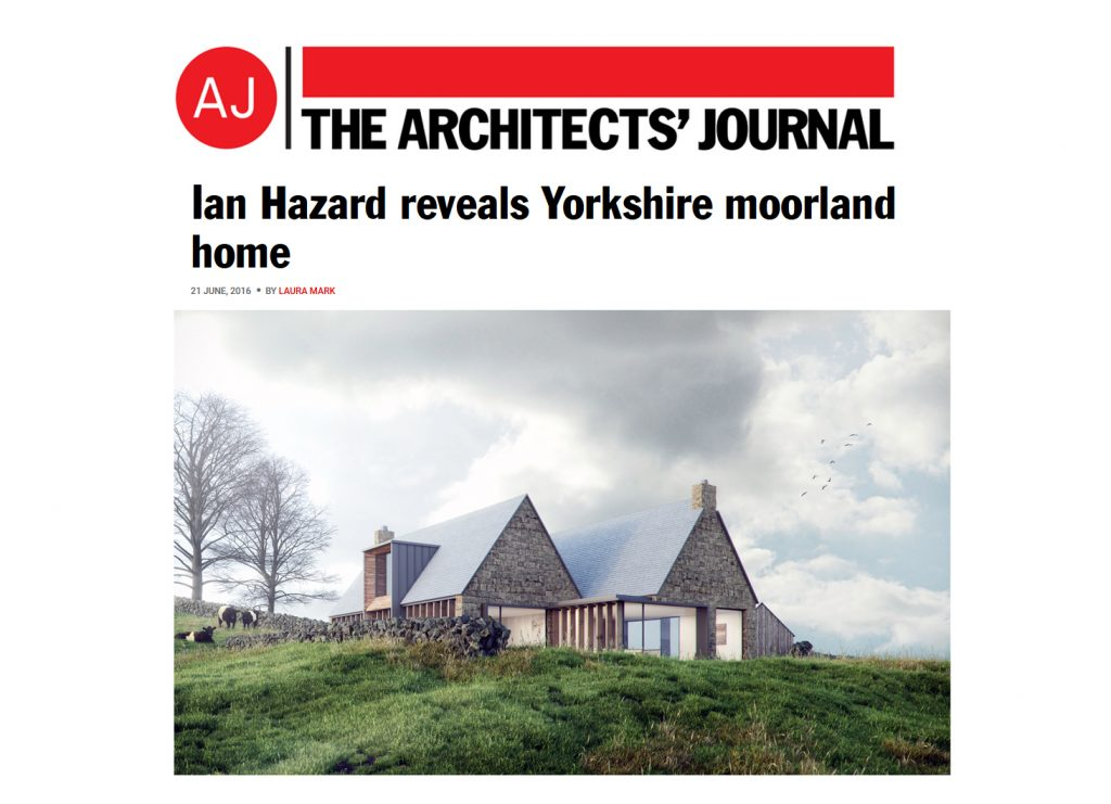 Tib Hill. The Architect's Journal Article