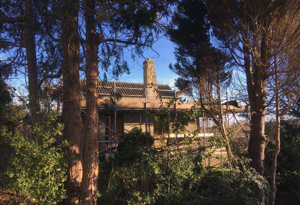 Australia House, Whitby, North Yorkshire. Site Progress