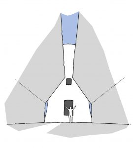 The Old Windmill, York. Process Diagram - Open View