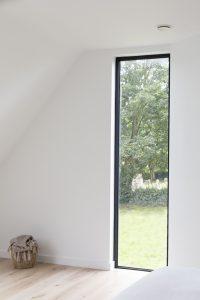Millington Longhouse. Millington, East Riding of Yorkshire. Bedroom Window Detail