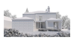The Old Vicarage, Worlaby. Side View